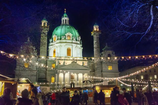 Winter nights in Vienna