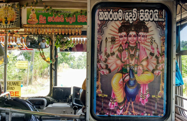 bus in sri lanka