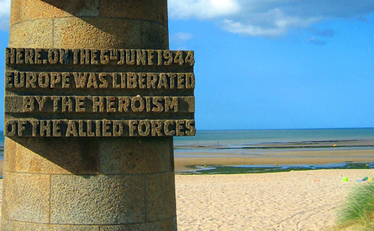 The site of D-Day (Image: pacroon)