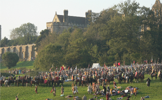 Site of the Battle of Hastings (Image: snake3yes)